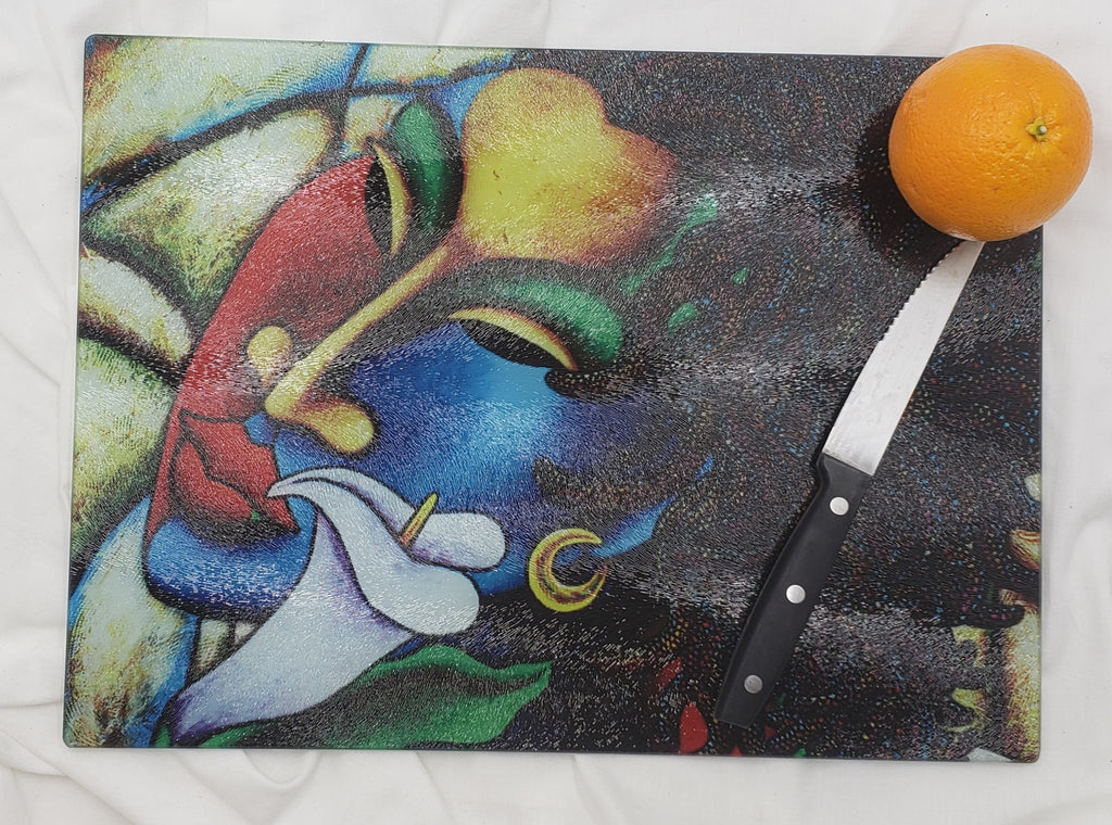 Colored Girl #20 Cutting Board
