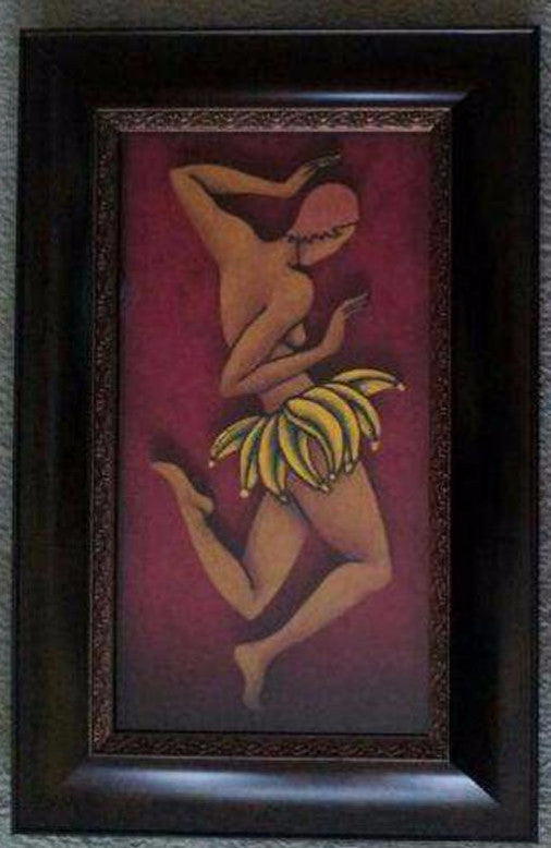 Dancer #2 Mixed Media Framed - LaShunBeal.com