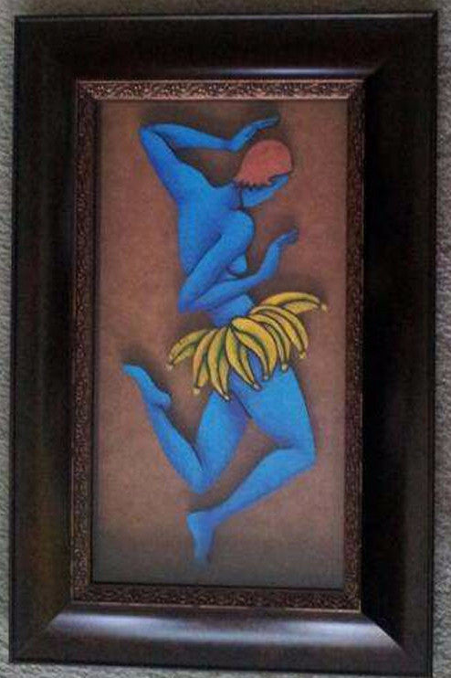 Dancer Mixed Media Framed - LaShunBeal.com
