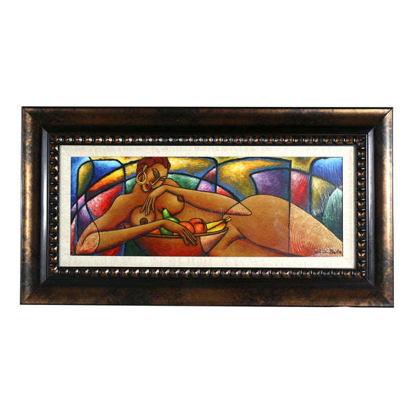 Nude #8 Framed Art 9 x 22