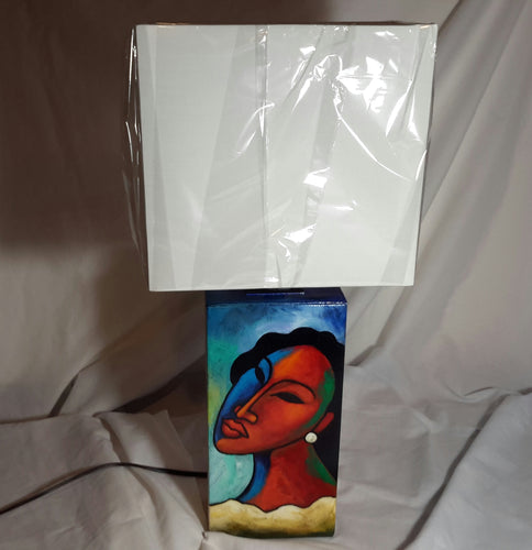 Hand Painted Lamp #4