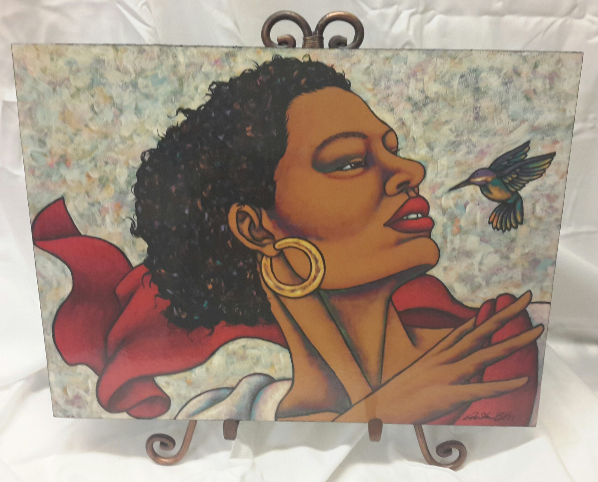 Humming Bird #2 Wall Art Plaque - LaShunBeal.com