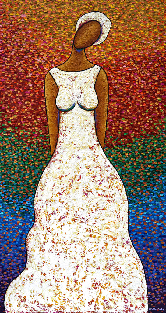 Lady Grace #12 Acrylic Paint On Canvas Art Original