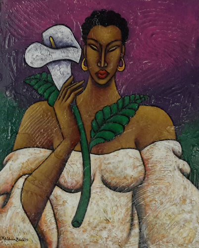 Lady Grace #14 Acrylic Paint on Canvas Art Original