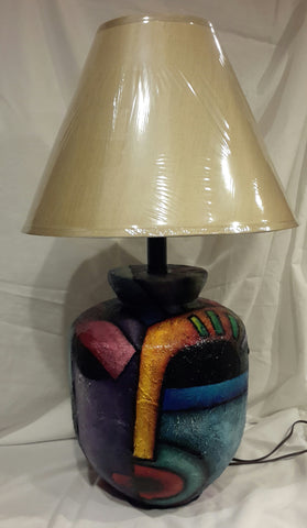 Hand Painted Lamp #1