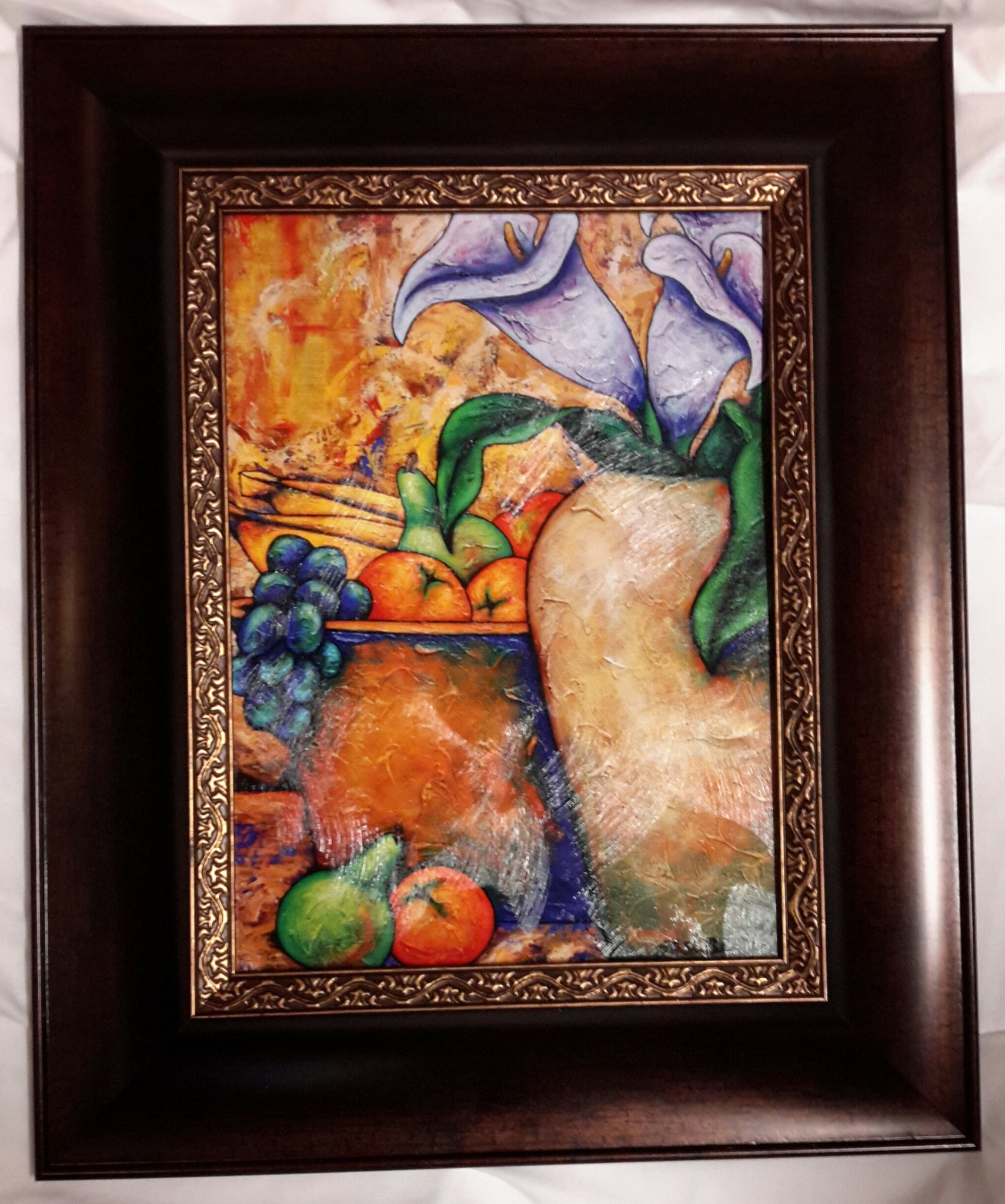 Lilies And Fruit #3 Framed Art - LaShunBeal.com