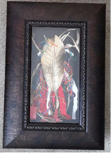 Mask #262 Framed Art - Lashunbeal.com
