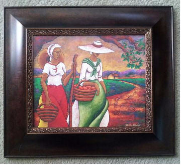 Morning Journey II Framed Art - Lashunbeal.com