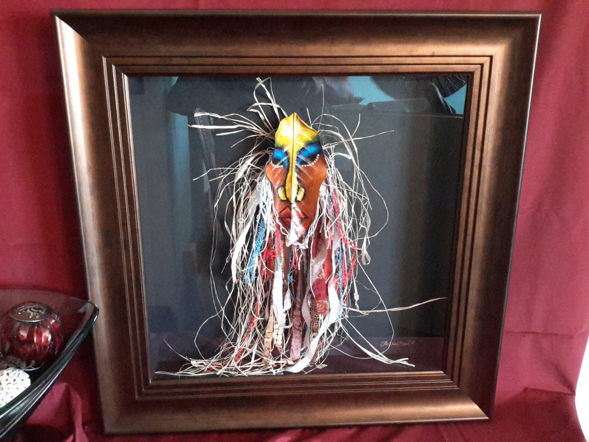 Mask #270 Framed Art - Lashunbeal.com
