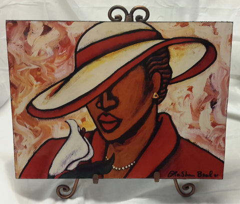 Miss Delta #3 Wall Art Plaque - Lashunbeal.com
