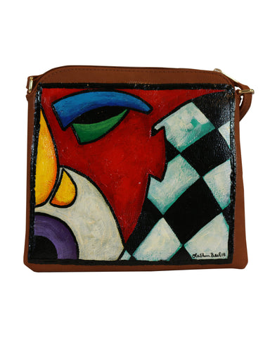 Purse #3 Hand Painted Purse Handbag