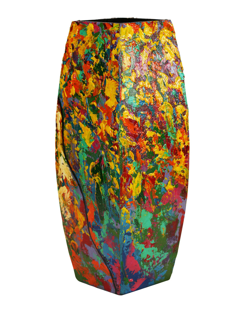 Hand Painted Wooden Vase #2 - LaShunBeal.com
