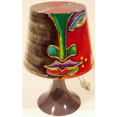 Hand Painted Lamp #14 - LaShunBeal.com
