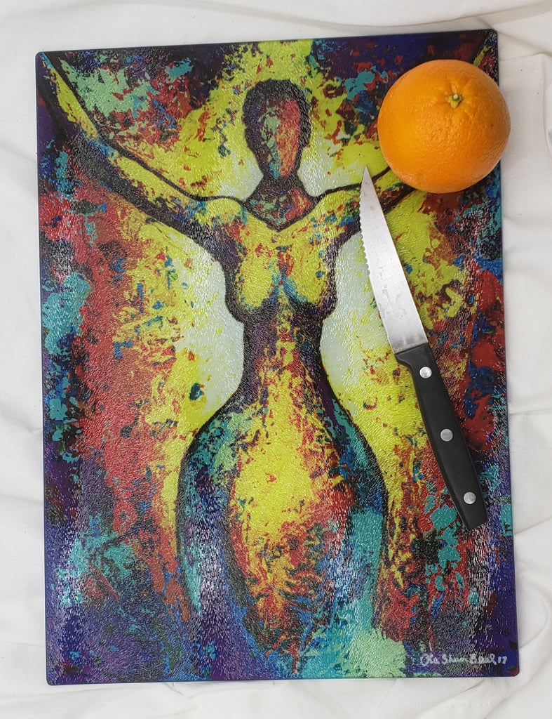 Rejoice #4 Cutting Board