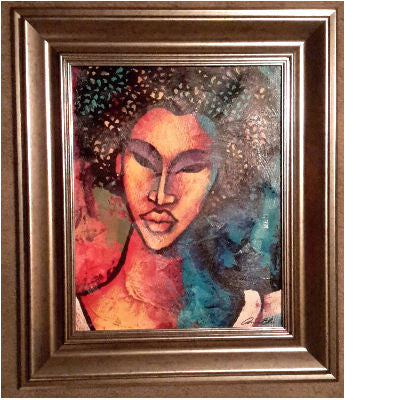 She #96 II Framed Art - Lashunbeal.com