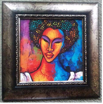 She #96 Framed Art - Lashunbeal.com