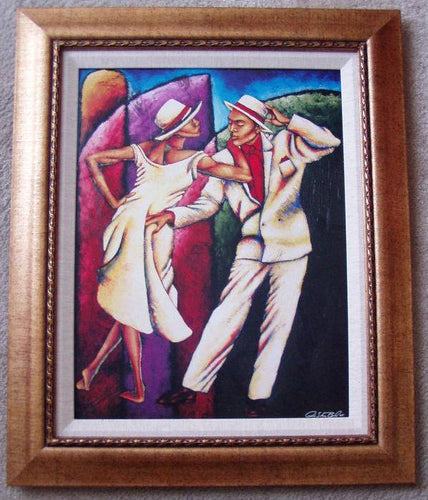 Stepping Out Framed Art