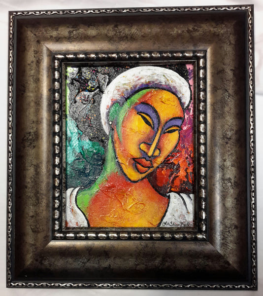 She #103 Framed Art