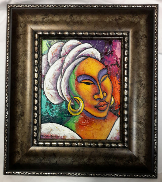 She #107 Framed Art
