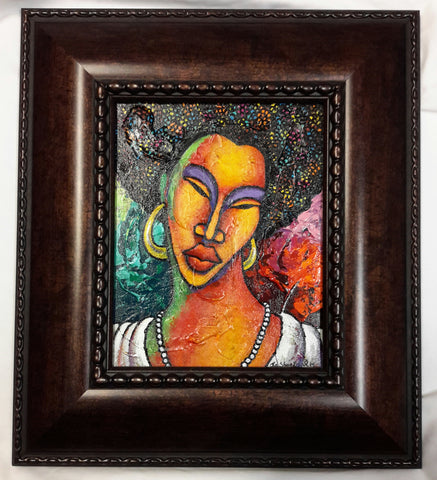 She #108 Framed Art