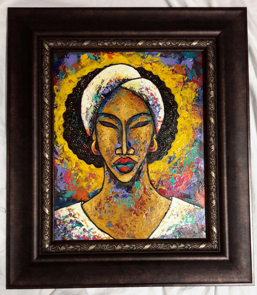 She #144 Framed Art