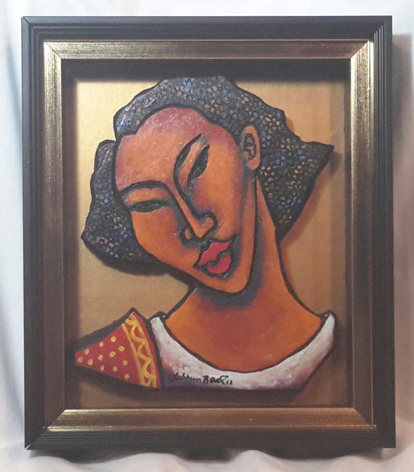 She #156 Framed Art