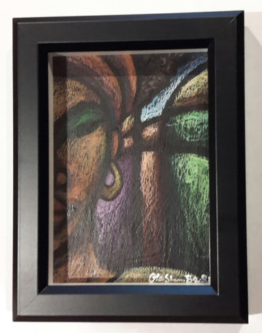 She #164 Framed Art