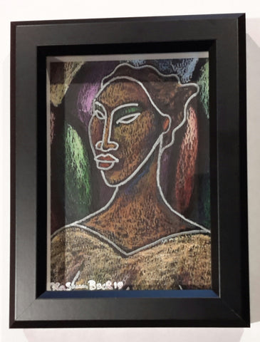 She #166 Framed Art