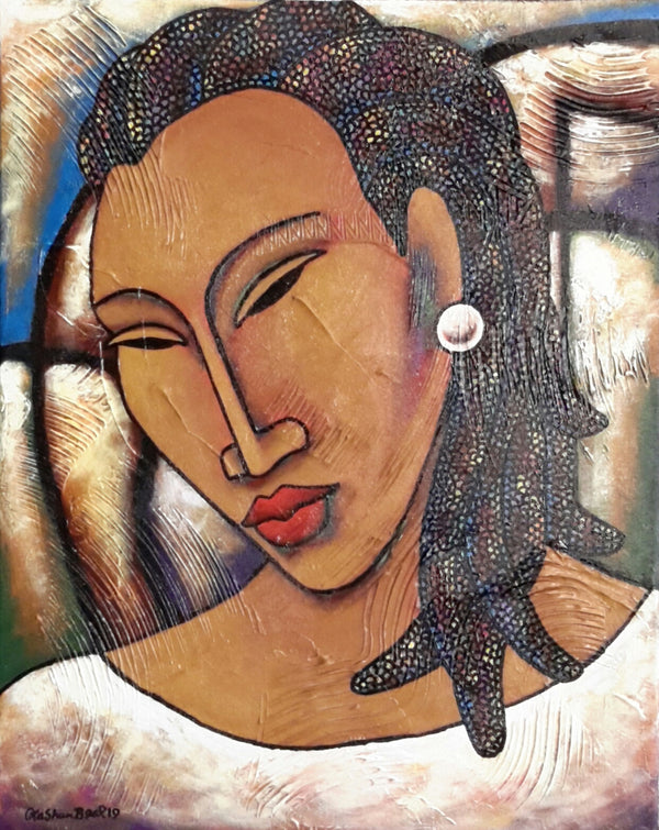 She #170 Acrylic Paint on Canvas Art Original