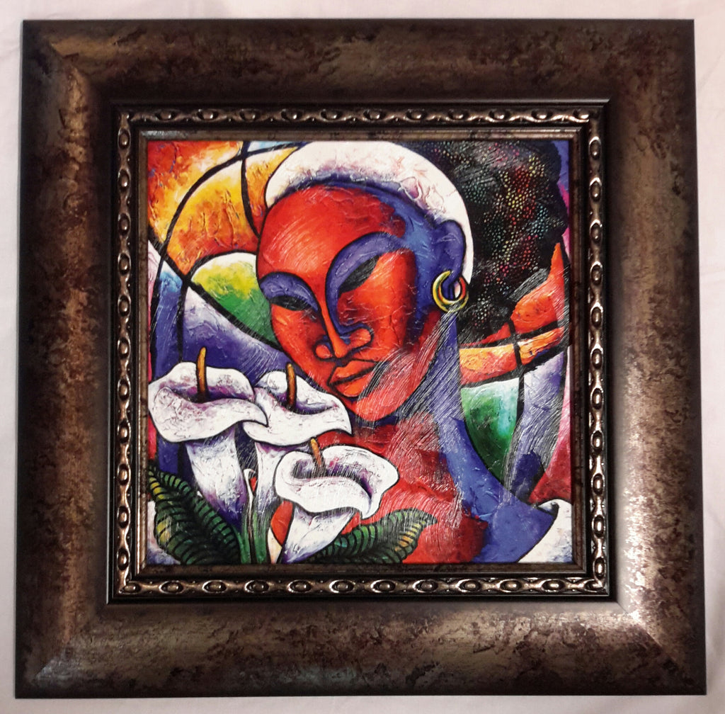 She #65 Framed Art - LaShunBeal.com