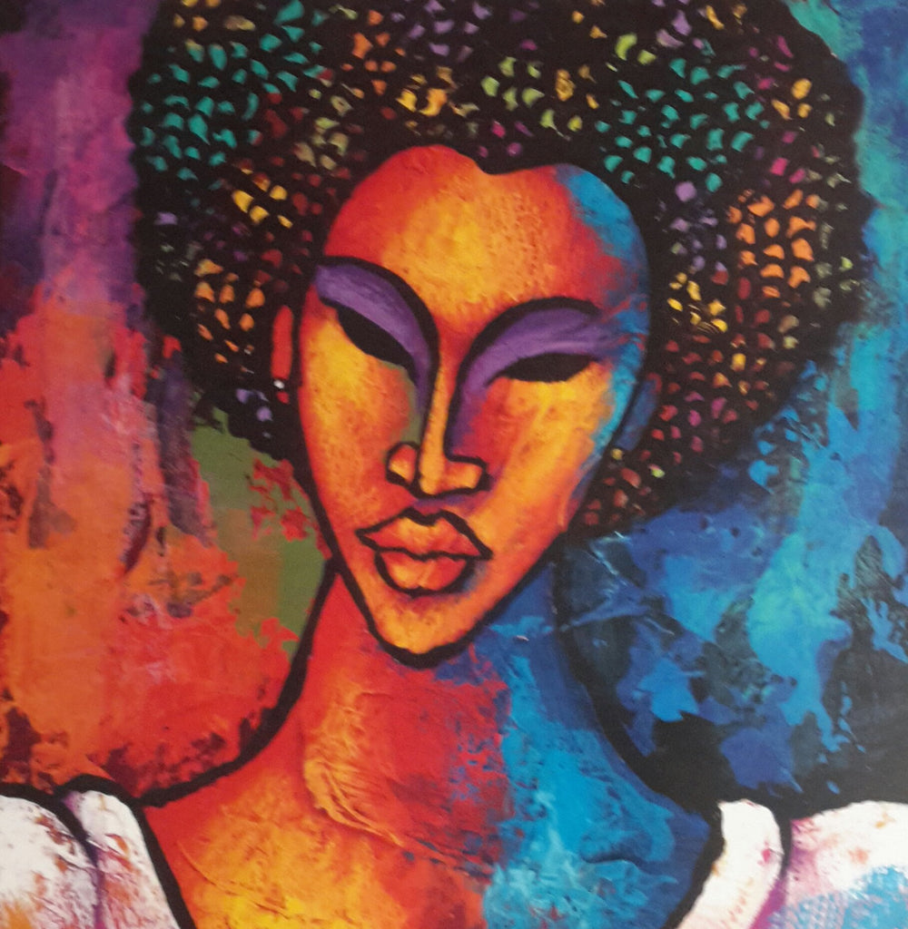 She #96 Giclee Art Print On Canvas