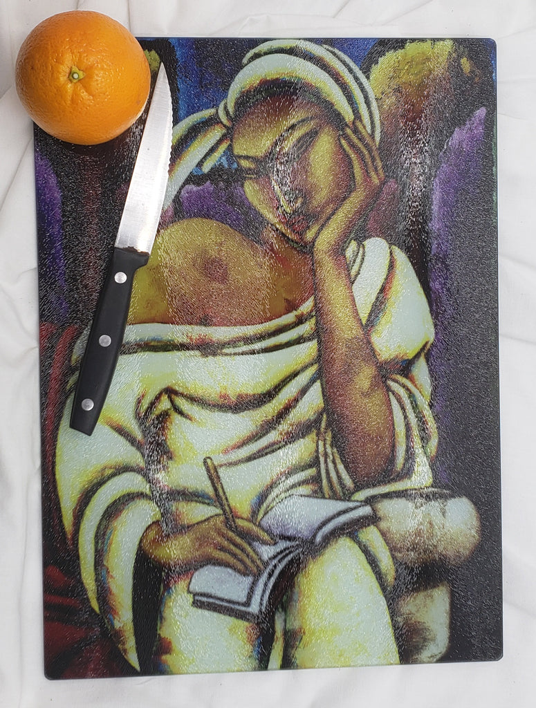 Thoughts in Time Cutting Board