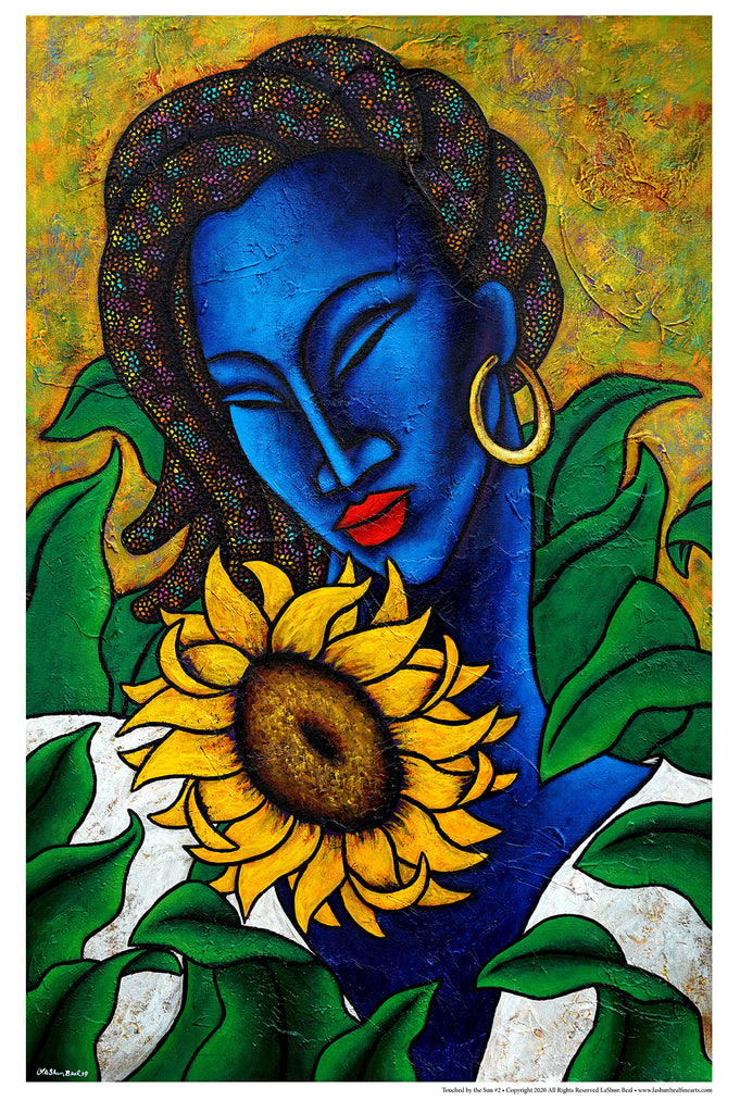 Touched By The Sun 24 x 36 Lithograph Art Print