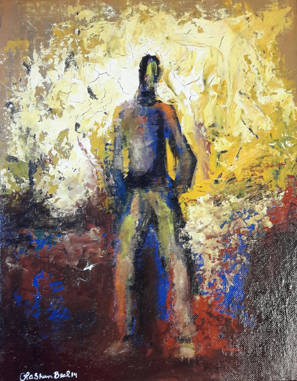 The Man #2 Acrylic Paint On Canvas  Original