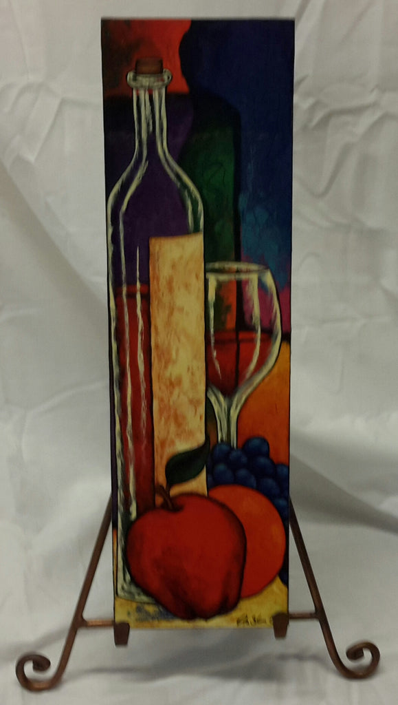 Wine and Fruit Wall Art Plaque - Lashunbeal.com