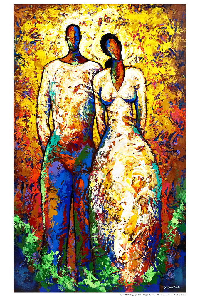 You and I #3 24 x 36 Lithograph Art Print