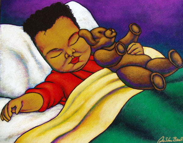 Sweet Dreams  Acrylic Paint on Canvas Art Original - Lashunbeal.com