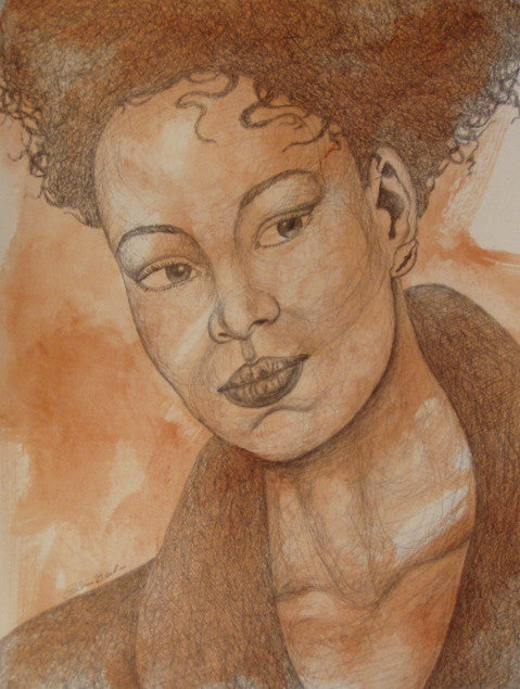 Donna Original Art Drawing - LaShunBeal.com