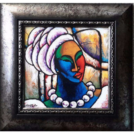 Colored Girl #14 Framed Art - Lashunbeal.com
