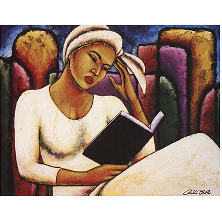 Deep in Thought Lithograph Art Print
