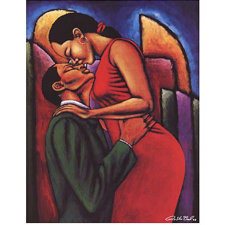 For The Lover In You Giclee Art Print On Canvas