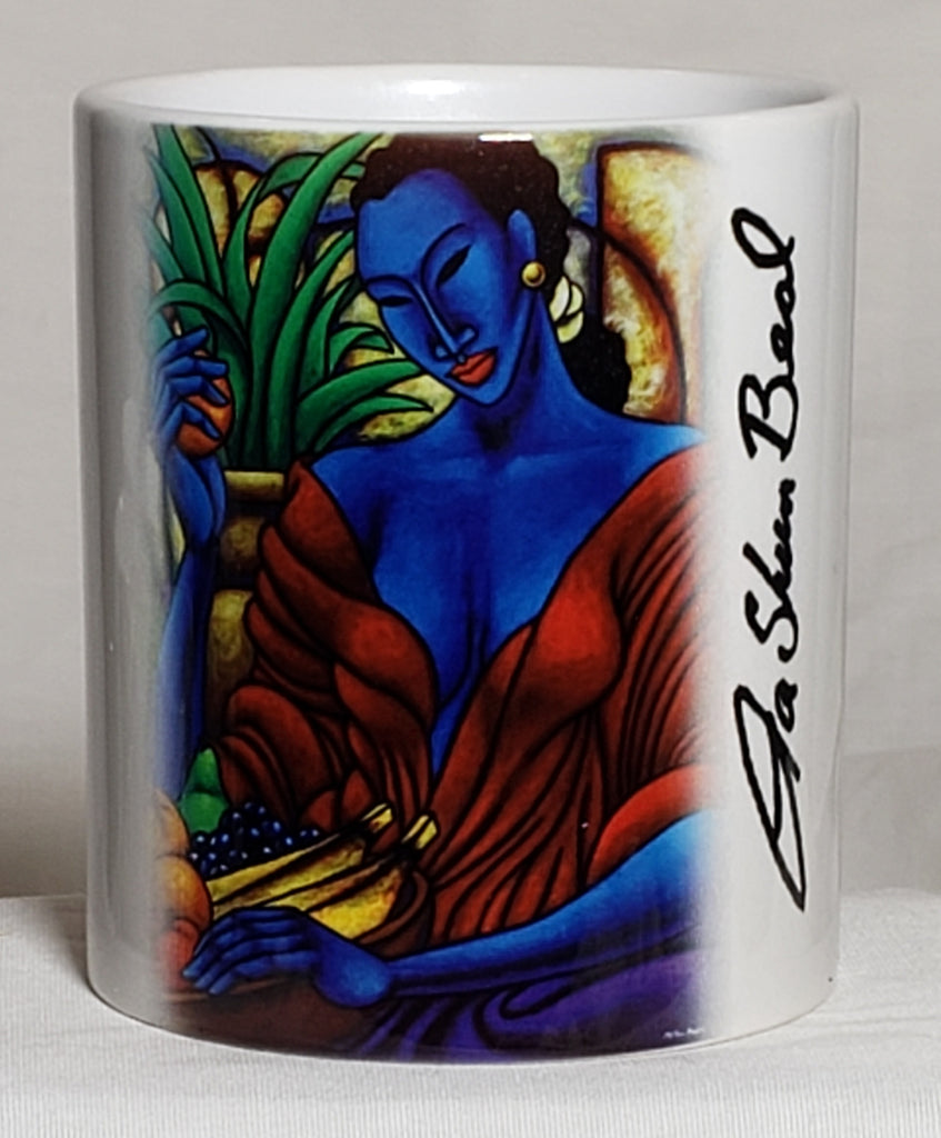 Indigo Mood #2 Coffee Mug