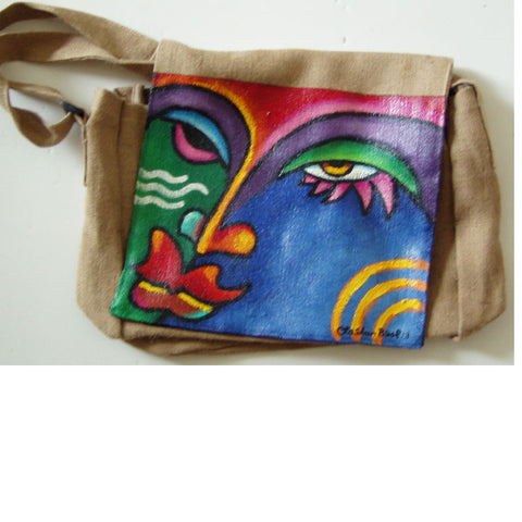 Purse #18 Hand Painted Purse Handbag