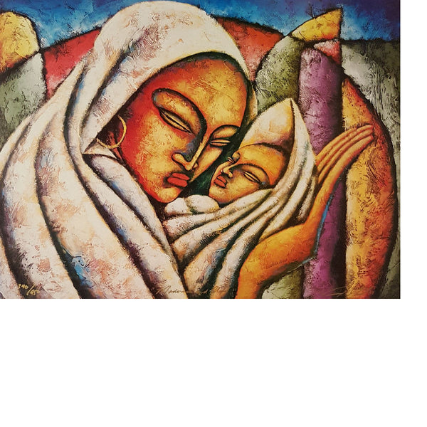 Madonna And Child Limited Edition Lithographs - Lashunbeal.com