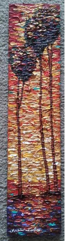 New Day #43 Acrylic Paint on Wood Art Original - Lashunbeal.com