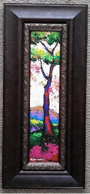 New Day #50 Acrylic Paint on Wood Framed Art Original - Lashunbeal.com
