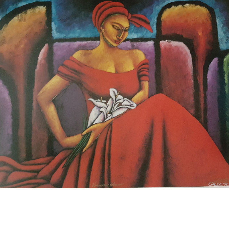 Veracious Woman Limited Edition Lithographs - Lashunbeal.com