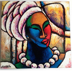 Colored Girl #14 Wall Art Plaque - LaShunBeal.com