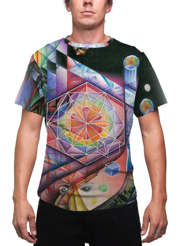 """UNIVERSAL MIND"" MEN'S T-SHIRT"
