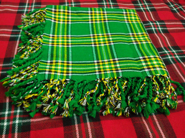 Irish National Tartan Scottish Highlanders Fly Plaid